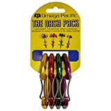 Omega Pacific Non Locking Climbing Carabiner, Dash, Wire Gate, 4 Pack, Rock Climbing Gear and Equipment