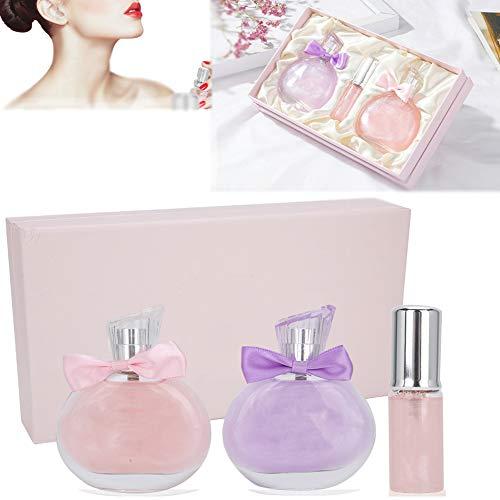 Set de regalo Eau De Parfum para mujer Spray de perfume para mujer Fragancias de perfume de larga duración Eau De Parfum Spray para mujer Set de regalo de Eau De Parfum para mujer