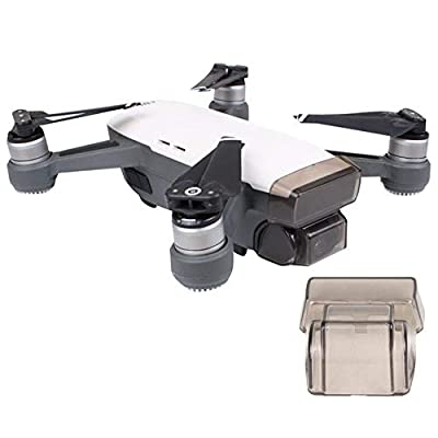 Flycoo Camera Gimbal Lens Cap for DJI Spark Integrated Protector Protection 3D Sensing System Protector Anti-collision Dustproof Waterproof Anti-scratch