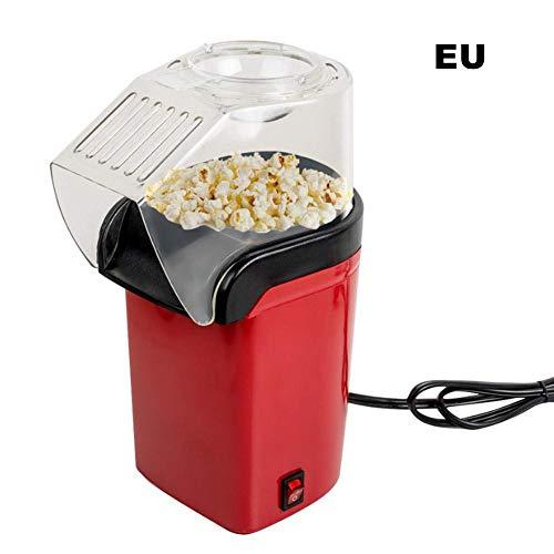 Startseite Popcornmaschine Heißluft-Popup-Zyklus Design Freunde und Eltern Elektrische Popcornmaschine Haushalts-Multifunktions-Popcornmaschine für gesunde und fettfreie Lebensmittel Retro-Heißluf