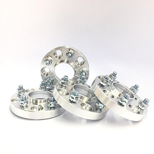 Customadeonly 4 Pieces 1' 25mm Hub Centric Wheel Spacers Adapters Bolt Pattern...