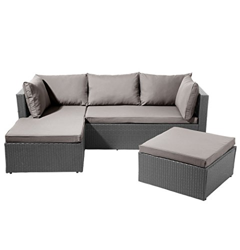 LD Poly Rattan Furniture Set Lounge Furniture Sofa Garden Furniture Set