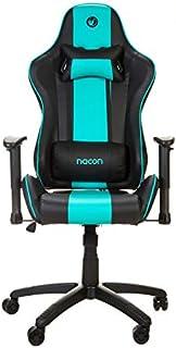 Nacon Profesional para Videojuegos PCCH-550 Silla Gaming Negro y Azul, Normal