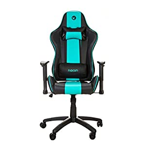 Nacon Silla Profesional para Videojuegos PCCH-550 Silla Gaming Negro y Azul