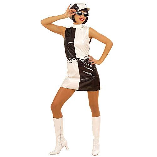 Widmann - Cs925806/m - Costume 60's Chic Vinyl Taille M