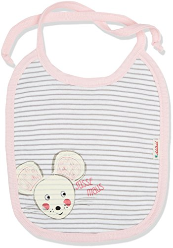 Adelheid Baby Mädchen Süße Maus Halstuch, Mehrfarbig (ringel Mausgrau-weiss 992), One Size (Herstellergröße:OG)