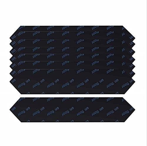 EPRHY 16 almohadillas antideslizantes en la alfombra, agarradores de la alfombra, lavables, removibles, cinta adhesiva de la esquina