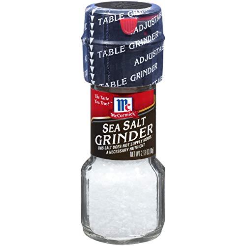 McCormick Sea Salt, 2.12 oz Table Grinder
