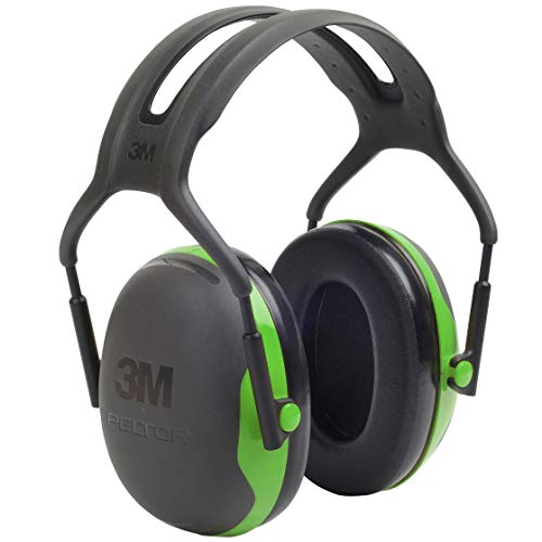 3M Peltor X1A Over-the-Head Ear Muffs, Noise Protection, NRR 22 dB, Construction, Manufacturing, Maintenance, Automotive, Woodworking