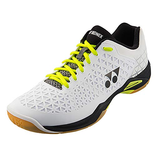 Yonex Eclipsion X - Zapatillas de bádminton, color blanco y negro (M6)