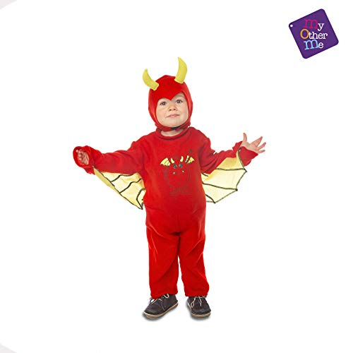 My Other Me - Halloween Diablo Disfraz, Multicolor, 3-4 años (203840)