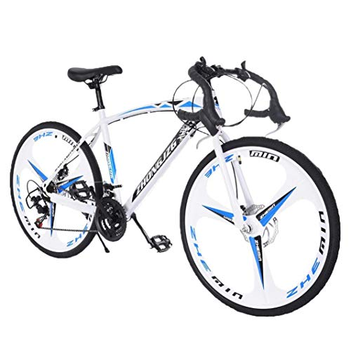 Xinqinghao Full Suspension Bike Road Bike 14-21 Speed Shimano Shifter 700C Wheel Wheels with Aluminum Alloy Frame, Rider Bike Faster and Lighter Commuter Bicycle USA
