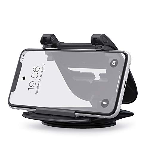 YOSH Soporte para teléfono de Coche, Soporte para teléfono móvil para salpicadero de Coche con 360 rotación para iPhone 12 Pro XS MAX XR X 8 7 6S PlusSamsung S21 Note20 Huawei P40