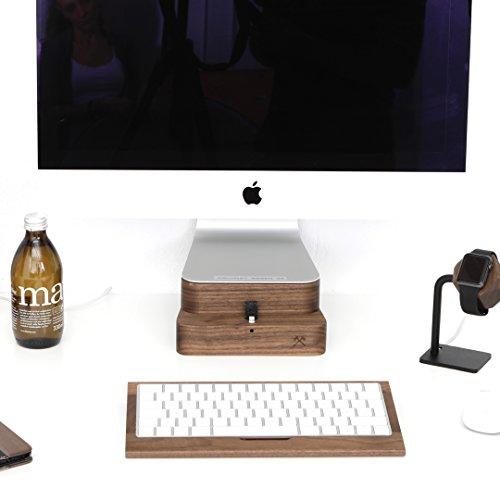 Woodcessories - Stand + Dock kompatibel mit iMac 21,5
