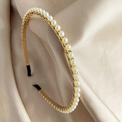 feiren Diademas de reina tiaras y coronas de novia diadema para niñas fiesta de graduación accesorios de joyería para el cabello (color metálico: H00186)