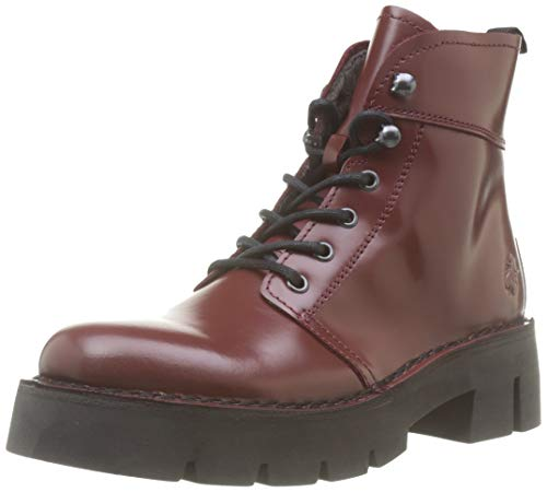 Fly London Damen BOLA009FLY Stiefeletten, Rot 001, 36 EU