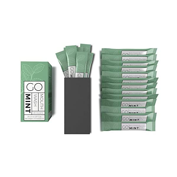 Exershield To Go mouthwash packets