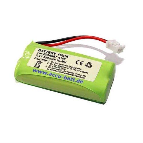Batería de teléfono para teléfono Inteligente Compatible con Gigaset A120, A14X, A24X, A16X, A26X, Universum CL 15, SL15 de Repuesto para V30145-K1310-X359