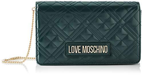 Love Moschino JC4261PP0BKA0, Borsa A Spalla Donna, Verde, Normale