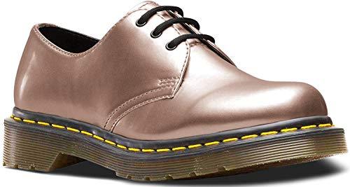 Dr.Martens Damen 1461 Vegan Chrome Paint Metallic Synthetic Rose Gold Schuhe 39 EU
