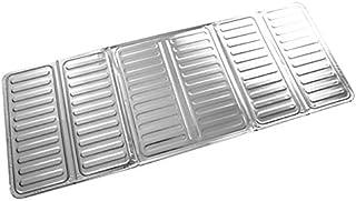Novedad 84 * 32.5 cm Cocina Papel de aluminio para cocinar Sartén de aceite Cubierta de la pantalla de salpicaduras Anti salpicadura Protector Guard divisor de aceite