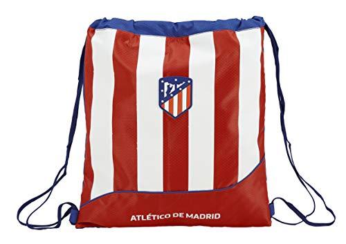 Atlético de Madrid Saco Mochila Plano Cuerdas 35 x 40 cm.