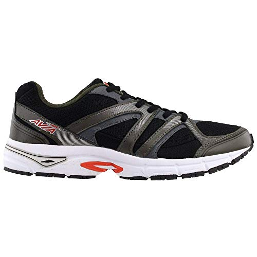 Avia Mens Execute Ii Running Sneakers Shoes - Black - Size 9.5 D
