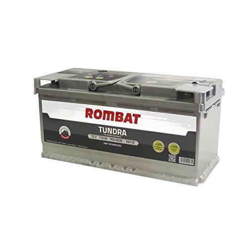 Rombat - Batería para Coche Tundra EFB TEFB6110 12V 110Ah 950A