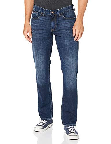 Cross Herren Dylan Tapered Fit Jeans, Blau (Dark Blue 099), W38/L36