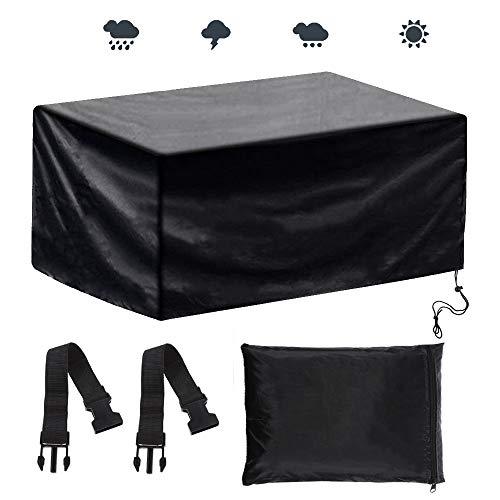 Anpro Cubierta de Protección para Muebles de Jardín contra el Sol de Lluvia de...