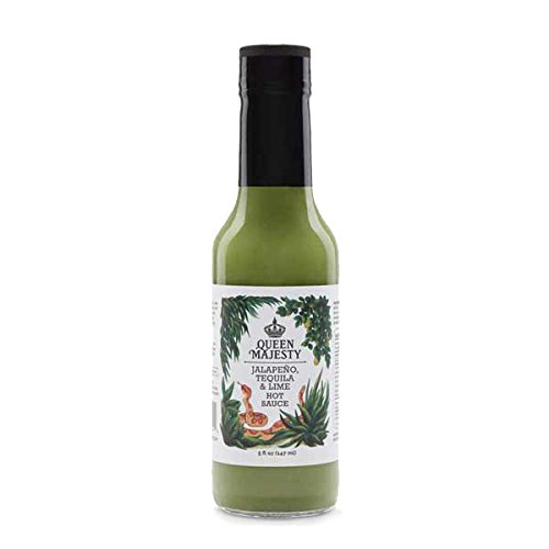 Queen Majesty Jalapeno, Tequila and Lime Hot Sauce, 147ml