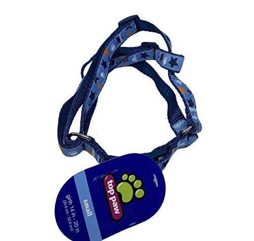 TOP PAW Adjustable Dog Harness Small Grith 14