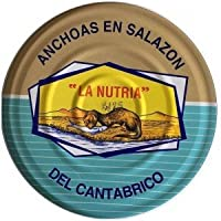 Anchoas del Cantábrico en salazón La Nutria RO-1400