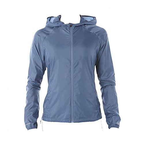 Preisvergleich Produktbild ASICS Damen Packable Laufjacke-Hellblau,  Grau Jacken,  XS