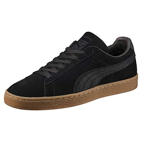 Puma PUMA Unisex Suede Classic Natural Warmth Sneaker, Schwarz (Black-Black), 42 EU