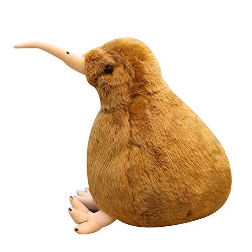 N / A Simulación Kiwi Bird Plush Toy Cute Kiwi Plush Stuffed & Plush Animals Muñeca Suave Juguetes para niños para niños Regalo de cumpleaños 20cm