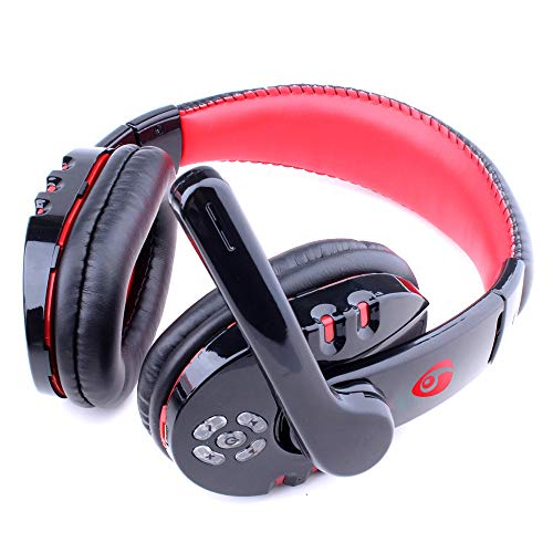 Fullfun Bluetooth Game Headphone Gamer Earphone with Microphone Stereo Gaming Headset Professional Wireless for PS3 PC Gameplay