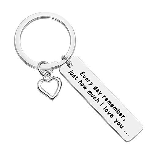 Boyfriend Girlfriend Keyring Couple Gift Best Friend...