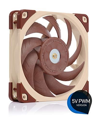 Noctua NF-A12x25 5V PWM, Ventilador Silencioso de Gran Calidad con Cable Adaptador USB, 4 Pines, Versión de 5V (120 mm, Marrón)