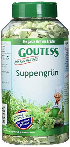 Goutess Suppengrün, gefriergetrocknet (1 x 110 g)