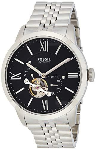 Fossil Herren Automatik Uhr mit Edelstahl Armband ME3107