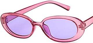 TYJYY Sunglasses Small Oval Sunglasses Women Cat Eye Vintage Retro Cat Eye Frame Tiny Sun Glasses Uv400