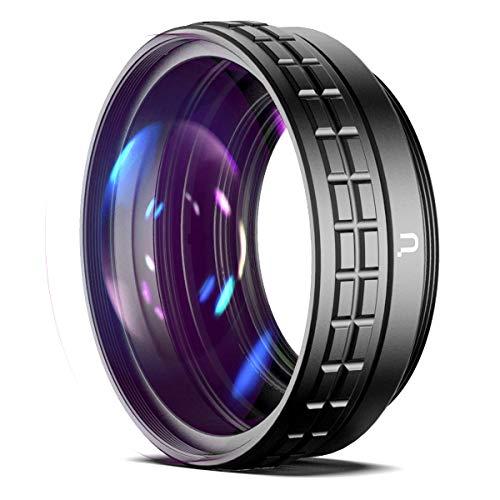 Linghuang - Obiettivo macro grandangolare 2 in 1, ampio angolo per Sony ZV1 RX100-7, grandangolo 18 mm, macro 10X, nessuna inclinazione della testa