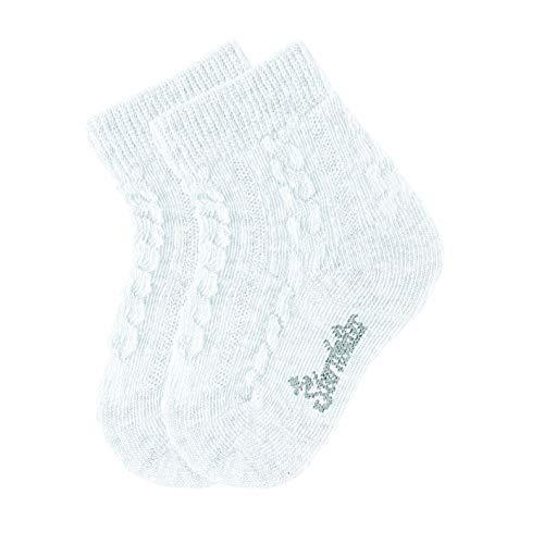Sterntaler Unisex-Baby Socken 2er-Pack, Weiß, 6-12 Monate, 17/18
