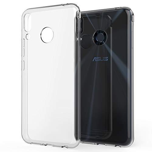 NALIA Coque Protection Compatible avec ASUS ZenFone 5 / 5Z, Ultra-Fine Housse Silicone Telephone Portable Premium Case Cover Cristal Clair Anti-Choc Souple Mince Slim Gel Etui Résistant - Transparent