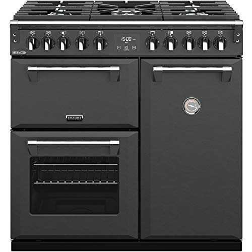 Stoves Richmond S900DF 90cm Dual Fuel Range Cooker - Anthracite Grey