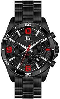 T5 H3521G-E Analog Stainless Steel Watch for Men