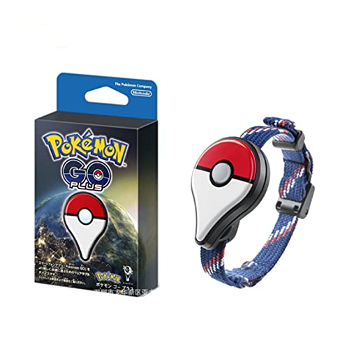 bamzok Pokemon Go Plus Verbindungsgerät Armband Bluetooth-Verbindungssensor Zum Erfassen Der Pokemon Puppe Pikachu Actionfigur Armband Set