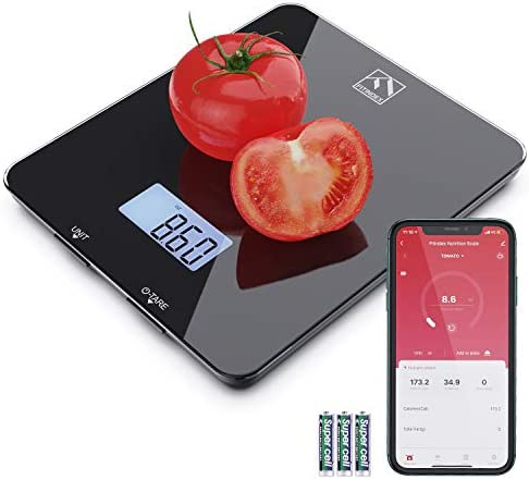 Smart Food Nutrition Scale FITINDEX Bluetooth Digital Kitchen Scale with Nutritional Calculator product image