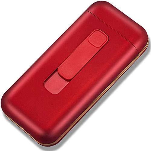 Zigarettenetui,Zigaretten Kasten Zigarettencase Zigarettenhülle,1 Stück Zigarettenbox Metall Mit Magnetverschluss,Verstärktem Kunststoffgehäuse,red